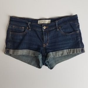 Abercrombie and fitch 8 jean shorts O6